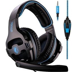 Sades SA810 Gaming Headset Single 3.5mm Jack Over Ear Gamer