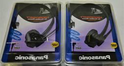 Set of 2 Panasonic KX-TCA60 Hands Free Headsets for Cordless