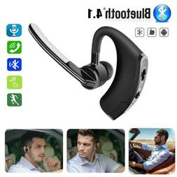Slim Wireless Stereo Bluetooth Single Earpiece Headset For A