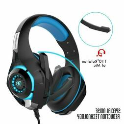 Beexcellent Stereo Bass Surround Gaming Headset for PS4 New