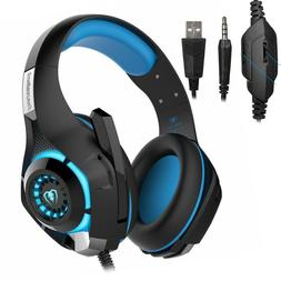 Beexcellent Stereo Bass Surround Gaming Headset for PS4 Xbox