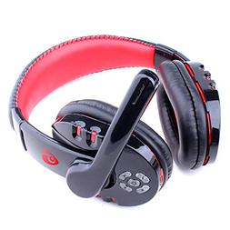 Stereo Gaming Headset with Microphone Bluetooth Headphone Co