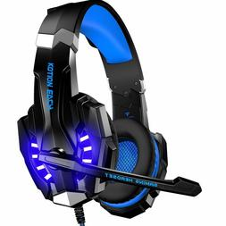 BENGOO Stereo Gaming Headset Headphones for Xbox One PS4 PC