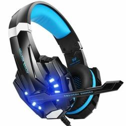 BENGOO Stereo Gaming Headset Noise Cancelling Over Ear Headp