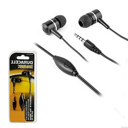 Duracell Stereo Headset w/ Microphone , colors may vary