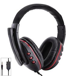 Accreate Fashion Stereo 3.5mm Wired Over Ear Gaming Headset