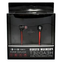 Noise Isolating Vol. Control and Mic. Headset For Microsoft