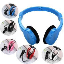 Super Bass Stereo Headphones On Ear Foldable Headband Headse