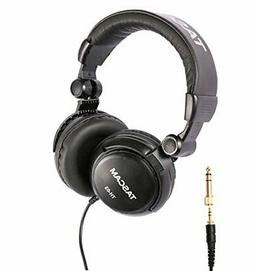 Tascam TH-03 Studio Headphones–Closed Back, Padded,Adjusta