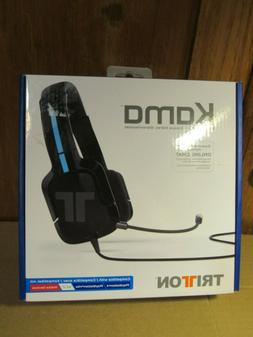 triton kama stereo headset supports ps4 online