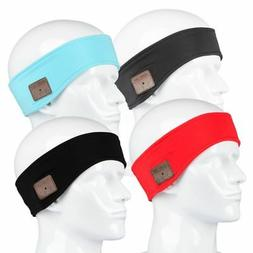 Unisex Bluetooth Wireless Sport Headband Running Music Heads