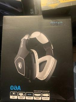 USB Gaming Headset-SADES A60 Over Ear Stereo Headphones