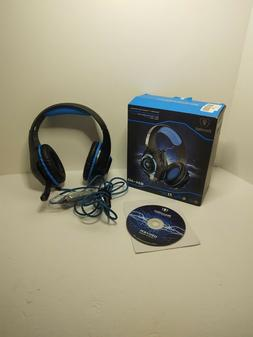 Beexcellent USB Gaming Headset for PC 7.1 Surround Sound Com