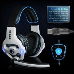 Usb Gaming Headset Professional 7 1 Channel Virtual Stereo A