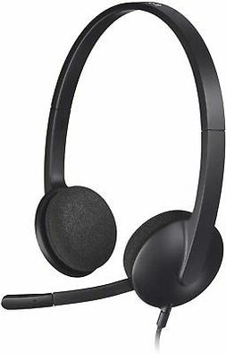 Logitech USB Headset H340 Stereo USB Headset for Windows and