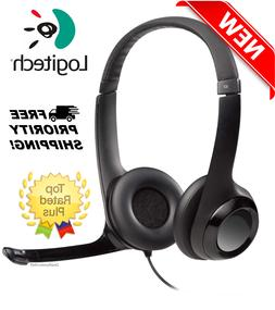 Logitech USB Headset H390 with Noise Cancelling Adjustable M