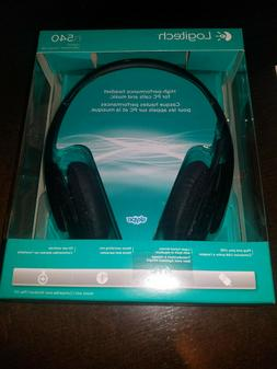 Logitech USB Headset H540 for PC Calls and Music Window & Ma