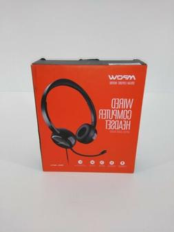 MPOW USB Wired Headset 3.5mm Computer Laptop PC Call Center