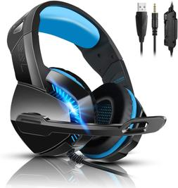 V-4 Gaming Headset for Xbox One, PS4, PC, Controller Noise C