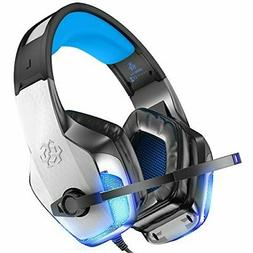 BENGOO V-4 Gaming Headset Xbox One PS4 Noise Cancelling Over