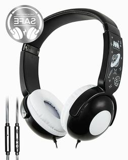 Mumba Kids Wired Headphones Volume Control Over Ear Headphon