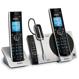 VT-DS6771-3 VTech Two Handset Cordless Phone with Headset by