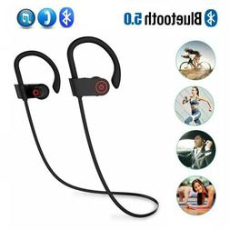 Waterproof Bluetooth Earbuds Stereo Sports Wireless Headphon