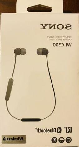 Sony WI-C300 Wireless In-Ear Headphones, Black
