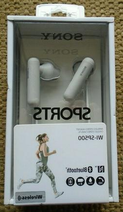 Sony WI-SP500 Wireless In-Ear Sports Headphones, White