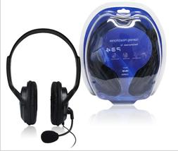 Wired Game Gaming Headset Headphones with Microphone for PS4
