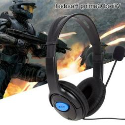 Wired Gaming Headphones Headset w/ Mic Accessories for Sony