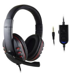 Wired Gaming Headsets Headphones Earphone with Mic for PS4 S