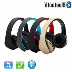 Wireless Bluetooth 4.1 Headphones Foldable Headset Stereo Ea