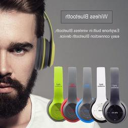 Wireless Bluetooth 4.2 Headphones Foldable Headset Stereo Ea