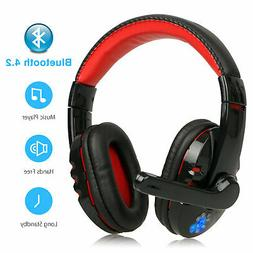 Wireless Bluetooth Gaming Headset Headphone with Microphone