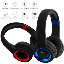 Wireless Bluetooth Headphone Foldable Stereo Headset Strong