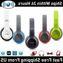 Wireless Bluetooth Headphones Noise Cancelling Over-Ear Ster
