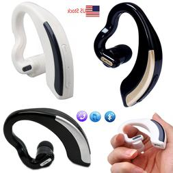 Wireless Bluetooth Headset Stereo Earpiece with Microphone F