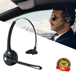 Wireless Bluetooth Noise Cancelling Mic Headset For Trucker