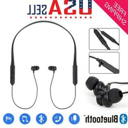 Wireless Bluetooth5.0 Sport Gym Headphones Earphones Earbuds